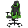 A product image of Vertagear Racing Series P-Line PL6000 Gaming Chair Black/Green Edition