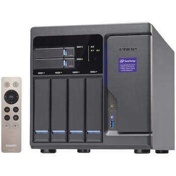 Product image of QNAP TVS-682-I3-8G i3 3.9GHz 4 Bay NAS Enclosure - Click for product page of QNAP TVS-682-I3-8G i3 3.9GHz 4 Bay NAS Enclosure