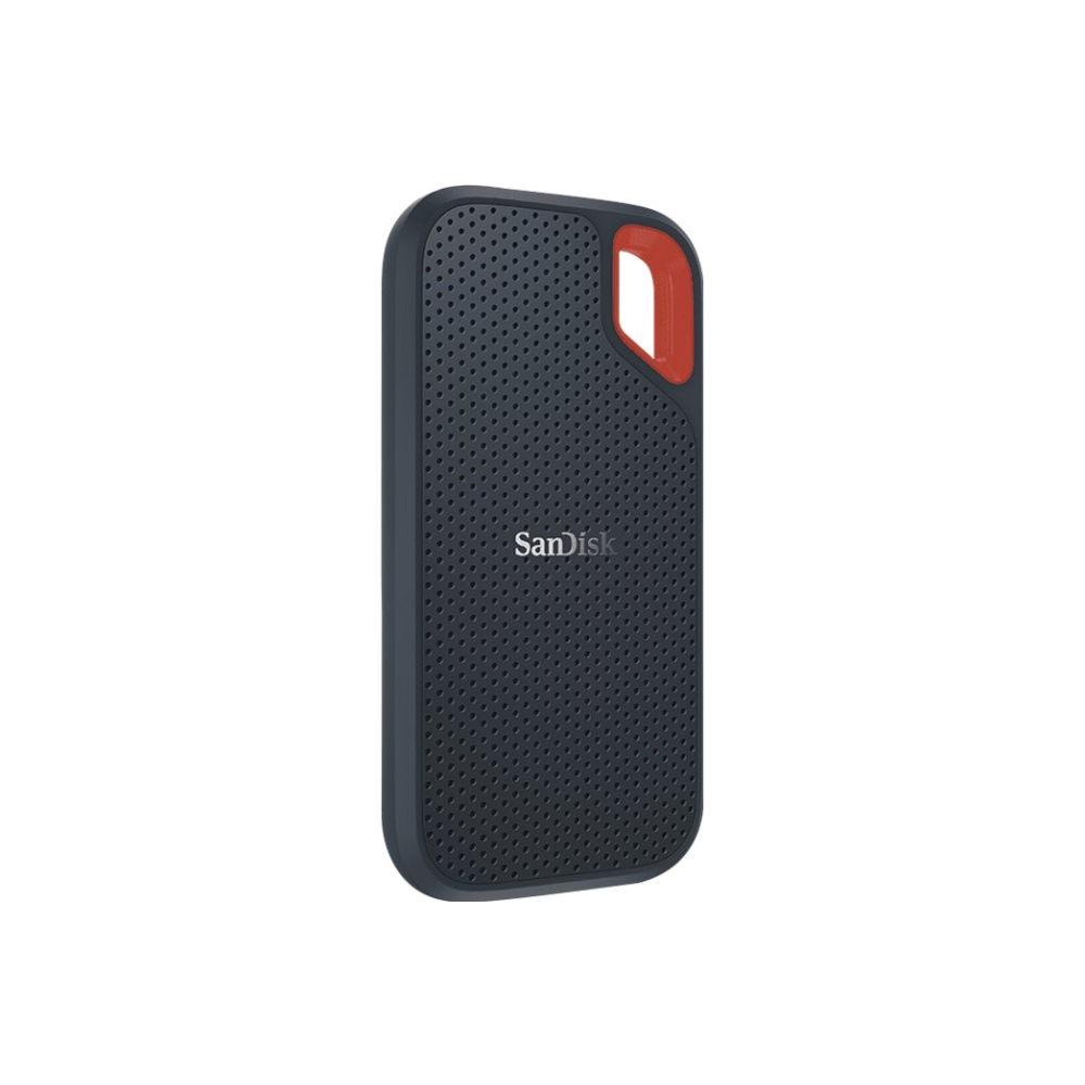 A large main feature product image of SanDisk Extreme Portable 250GB SSD USB3.1 and Type-C