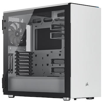 Product image of Corsair Carbide 678C Mid Tower Case w/ Tempered Glass Panel - White - Click for product page of Corsair Carbide 678C Mid Tower Case w/ Tempered Glass Panel - White