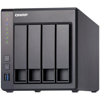Product image of QNAP TS-431X2 1.7Ghz 2GB 4 Bay NAS Enclosure w/ 10Gbps SFP+ Port - Click for product page of QNAP TS-431X2 1.7Ghz 2GB 4 Bay NAS Enclosure w/ 10Gbps SFP+ Port