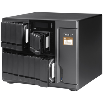Product image of QNAP TS-1635AX-4G 1.6GHz 4GB 12 BAY NAS Enclosure - Click for product page of QNAP TS-1635AX-4G 1.6GHz 4GB 12 BAY NAS Enclosure