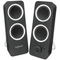 A small tile product image of Logitech Z200 Multimedia Speakers - Midnight Black