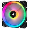 A product image of Corsair LL120 120mm RGB PWM Fan