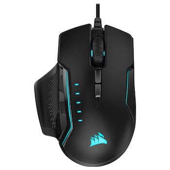 Product image of Corsair GLAIVE RGB PRO Aluminum Gaming Mouse - Click for product page of Corsair GLAIVE RGB PRO Aluminum Gaming Mouse