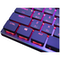 A small tile product image of Cooler Master MasterKeys SK621 RGB Mechanical Keyboard (MX Low Profile Red)