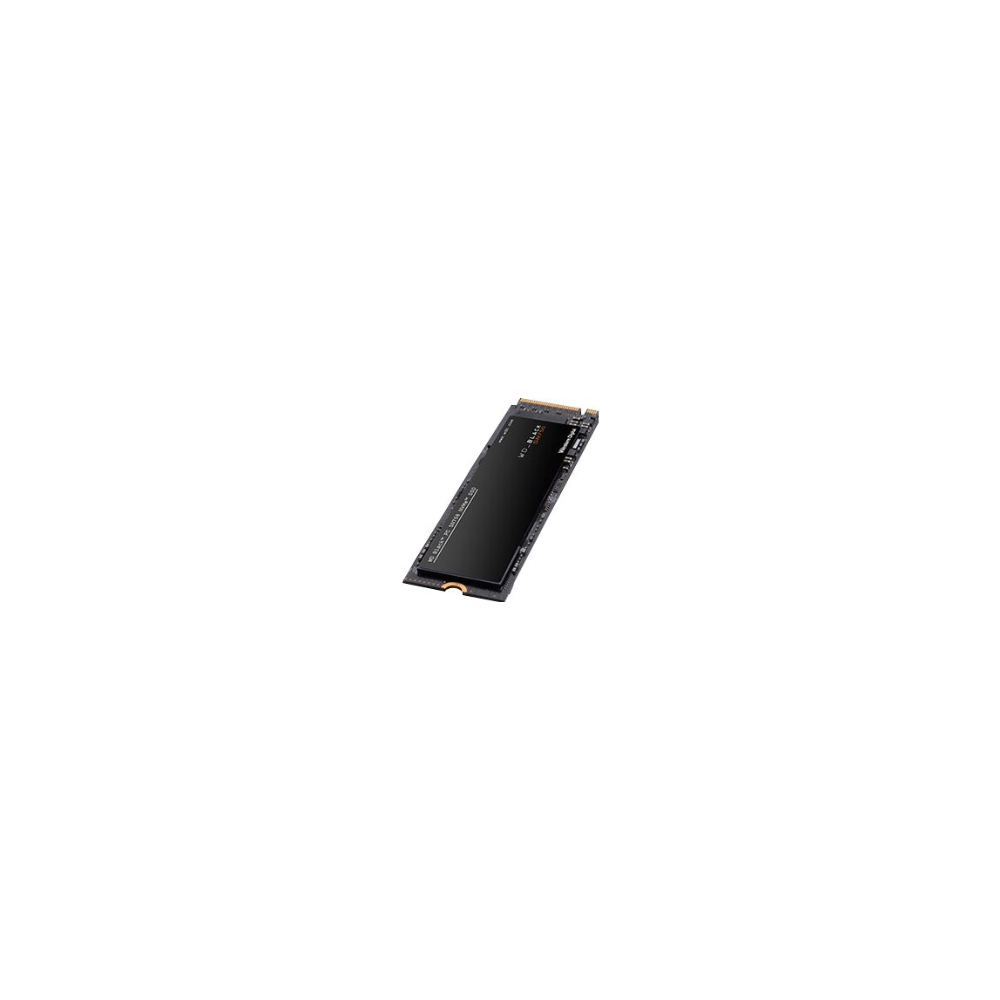 A large main feature product image of WD Black SN750 500GB 3D NAND NVMe M.2 SSD w/Heatsink