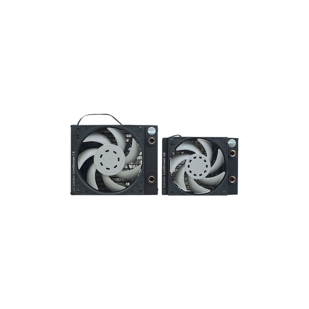 A large main feature product image of EK Coolstream CE 140mm Radiator