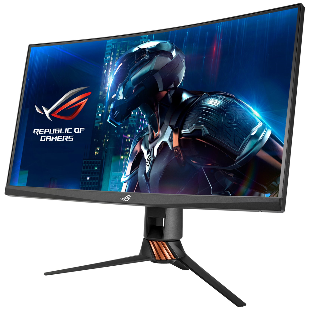 """A large main feature product image of ASUS ROG Swift PG27VQ 27"""" WQHD G-SYNC Curved 165Hz 1MS LED Gaming Monitor"""