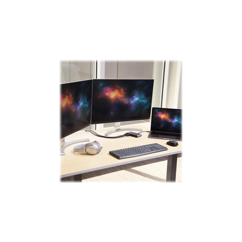 A large main feature product image of Startech Mini Thunderbolt 3 Dock - Dual 4K 60Hz - HDMI