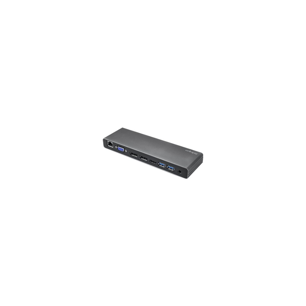 A large main feature product image of Startech Thunderbolt 3 Dock - Dual 4K 60Hz - DP / HDMI / VGA