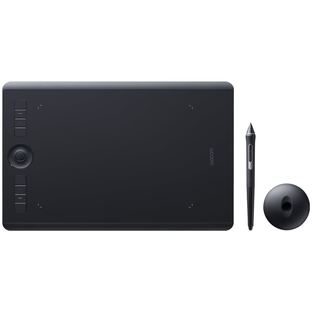A large main feature product image of Wacom Intuos Pro Medium Bluetooth Drawing Tablet w/ Pro Pen 2