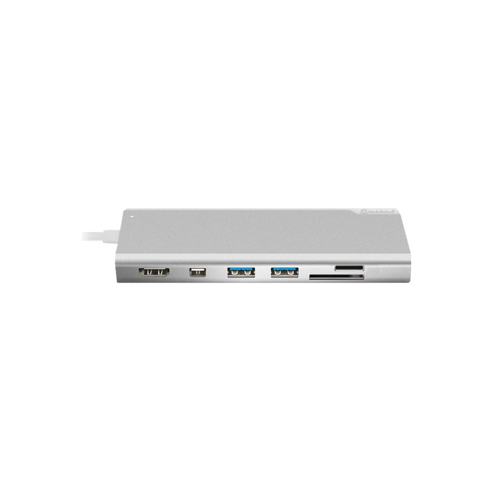 A large main feature product image of ALOGIC Ultra Plus USB-C Universal Dock w/Power Delivery - Silver