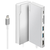 A product image of ALOGIC Ultra USB-C Universal Dock w/Power Delivery - Silver