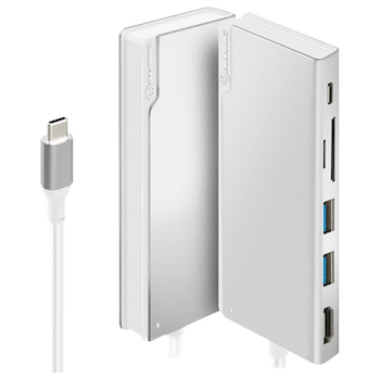 Product image of ALOGIC Ultra USB Type-C Universal Dock w/Power Delivery - Silver - Click for product page of ALOGIC Ultra USB Type-C Universal Dock w/Power Delivery - Silver