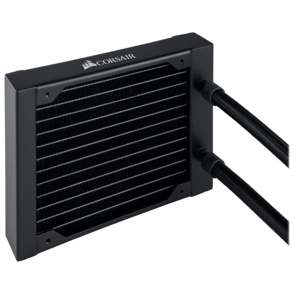 A large main feature product image of Corsair Hydro Series H75 V2 AIO Liquid CPU Cooler