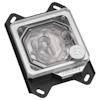 A product image of EK Velocity RGB AMD Nickel Plexi CPU Waterblock