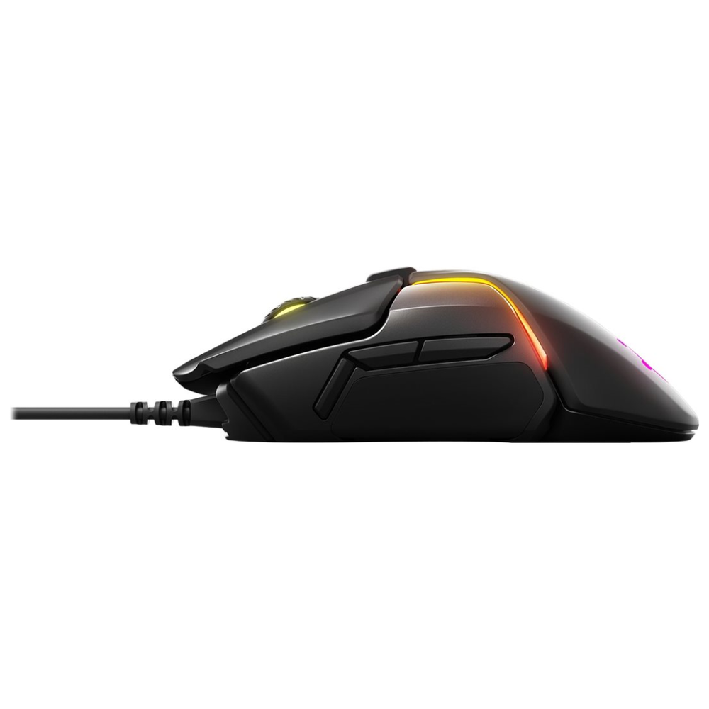 A large main feature product image of SteelSeries Rival 650 TrueMove 3 Optical Gaming Mouse