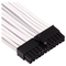 A small tile product image of Corsair Premium Individually Sleeved Pro Cables Kit Type 4 Gen 4 - White