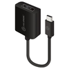 A product image of ALOGIC 10cm USB Type-C to DisplayPort Adapter with 4K2K Support