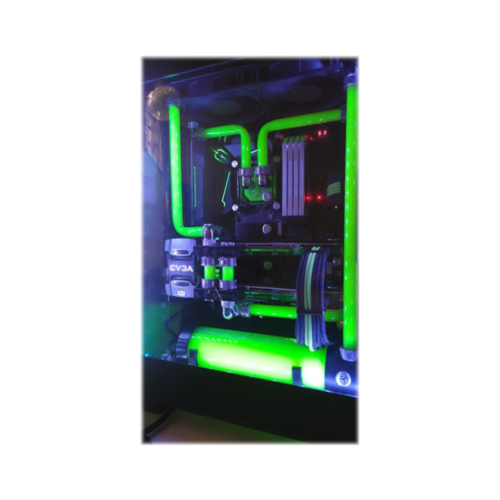 A large main feature product image of EK CryoFuel Solid Neon Green 250ml Concentrate