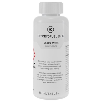 Product image of EK CryoFuel Solid Cloud White 250ml Concentrate - Click for product page of EK CryoFuel Solid Cloud White 250ml Concentrate