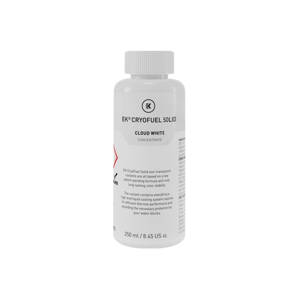 A large main feature product image of EK CryoFuel Solid Cloud White 250ml Concentrate