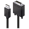 A product image of ALOGIC ACTIVE 2m DisplayPort to DVI-D Cable with 4K Support - Male to Male