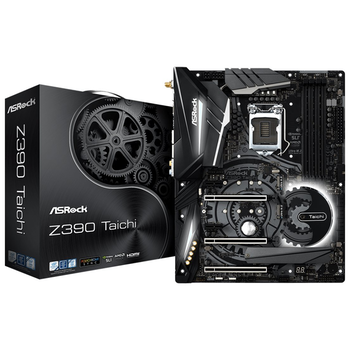 Product image of ASRock Z390 Taichi LGA1151-CL ATX Desktop Motherboard - Click for product page of ASRock Z390 Taichi LGA1151-CL ATX Desktop Motherboard