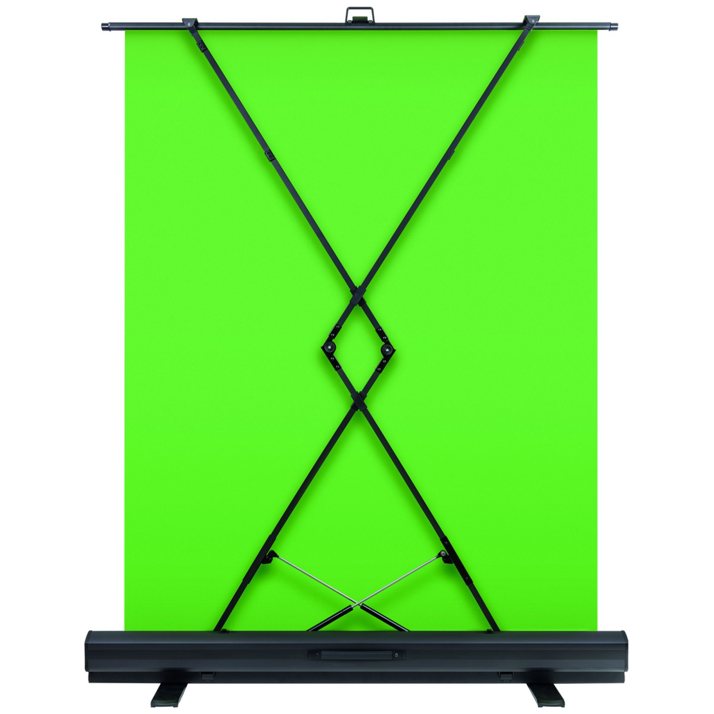 A large main feature product image of Elgato Collapsible Green Screen