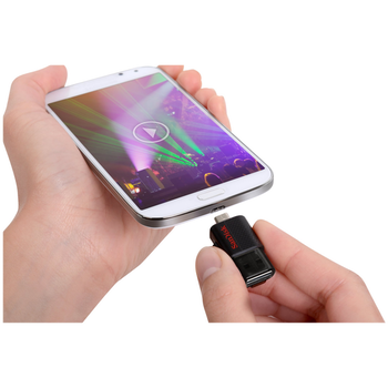 Product image of SanDisk Ultra Dual USB Drive 3.0 64GB USB3.0/micro-USB OTG Android - Click for product page of SanDisk Ultra Dual USB Drive 3.0 64GB USB3.0/micro-USB OTG Android