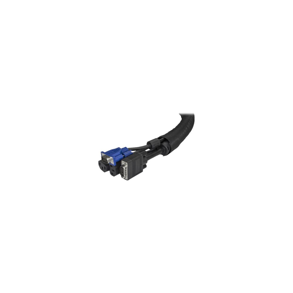 A large main feature product image of Startech Cable Management Sleeve - 2 m (6.5 ft) - Trimmable Fabric