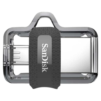 Product image of SanDisk Ultra Dual Drive m3.0 16GB USB3.0/micro-USB OTG Android - Click for product page of SanDisk Ultra Dual Drive m3.0 16GB USB3.0/micro-USB OTG Android