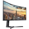 "A small tile product image of Samsung CJ89 43"" Ultrawide Dual WUXGA Curved 120Hz 5MS VA LED Gaming Monitor"