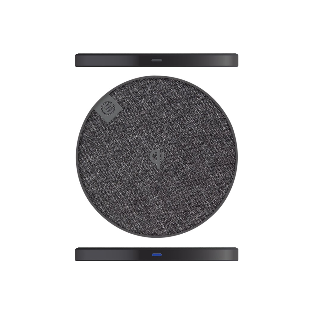 A large main feature product image of ALOGIC Prime Series Wireless Charging Pad - 10W - Space Grey