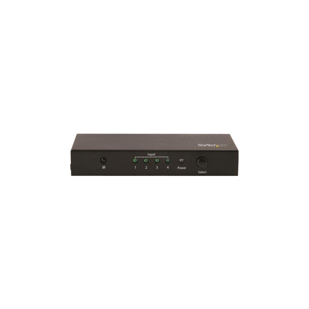 A large main feature product image of Startech 4x1 HDMI Video Switch - 4K60 - HDMI Video Switcher - 4K 60Hz