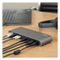 A small tile product image of Startech Dual 4K Thunderbolt 3 Dock, Mac/Windows - 85W Power Delivery