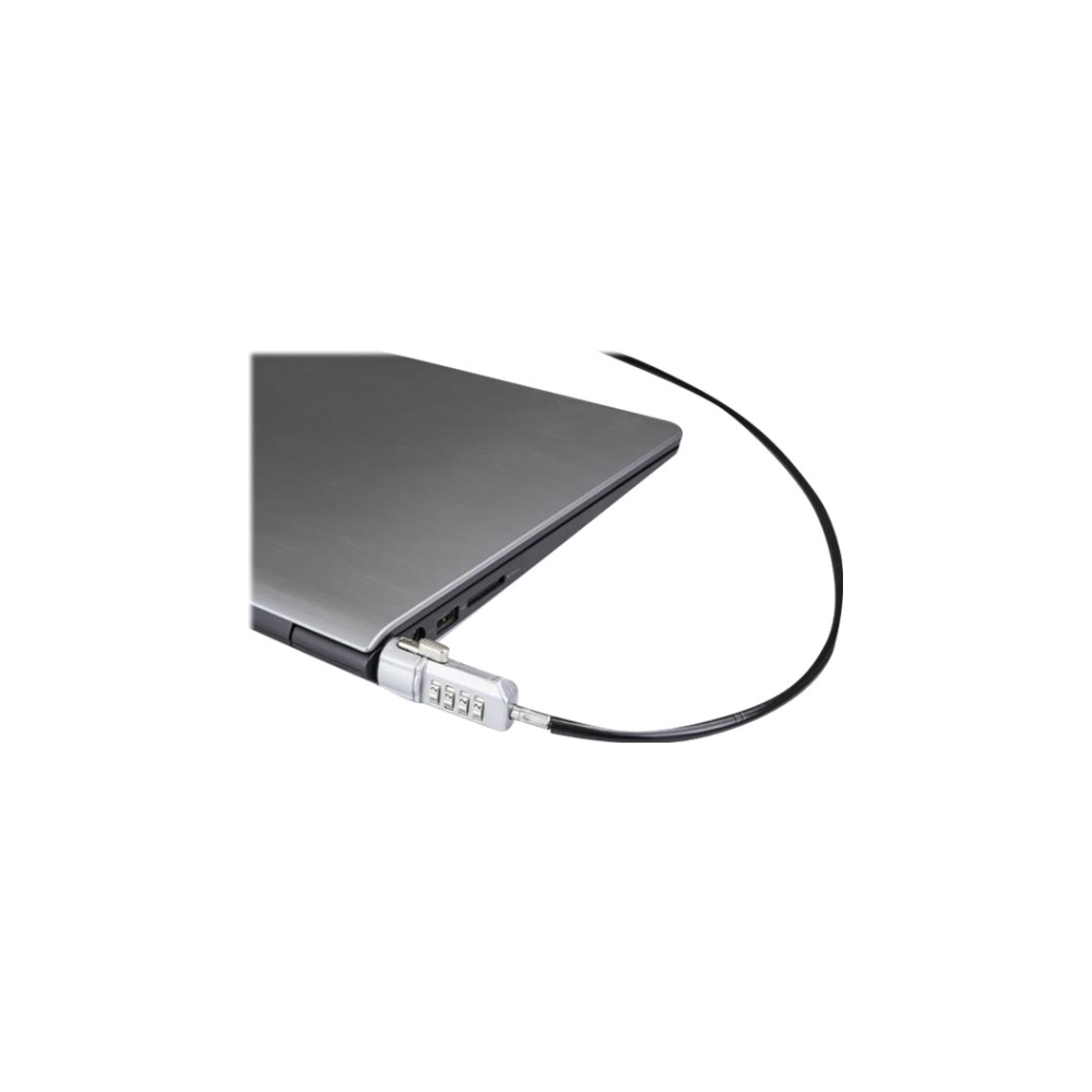A large main feature product image of Startech Laptop Lock - Keyless 4 Digit - 6' Vinyl-Coated Steel Cable