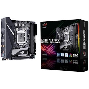 Product image of ASUS ROG Strix H370-I Gaming LGA1151-CL mITX Desktop Motherboard - Click for product page of ASUS ROG Strix H370-I Gaming LGA1151-CL mITX Desktop Motherboard