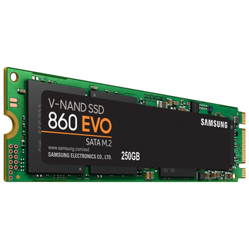 Product image of Samsung 860 EVO Series 250GB M.2 SSD - Click for product page of Samsung 860 EVO Series 250GB M.2 SSD