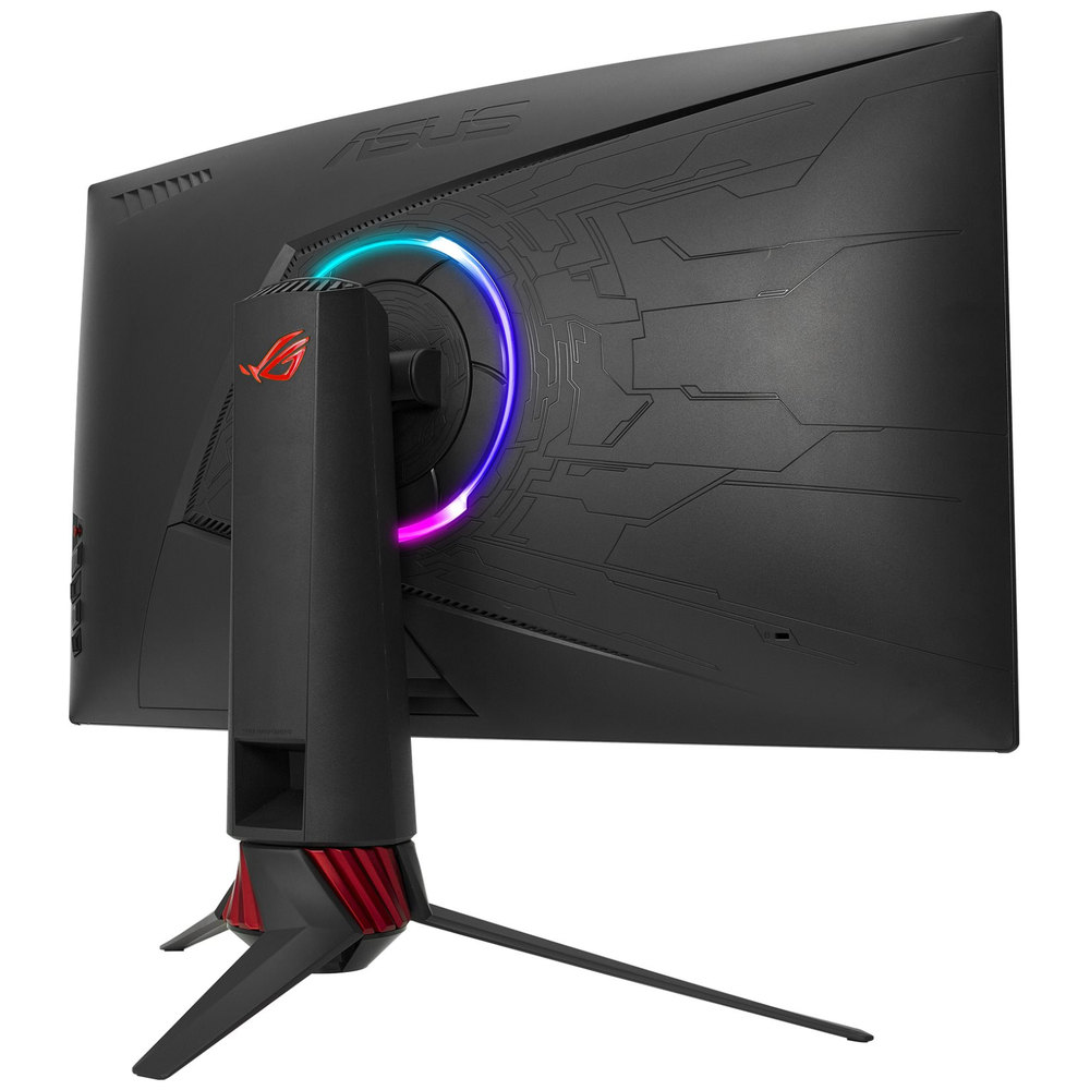"A large main feature product image of ASUS ROG Strix XG32VQ 31.5"" WQHD FreeSync Curved 144Hz 4MS VA LED Gaming Monitor"
