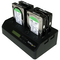 A small tile product image of Startech 4 Bay USB 3.0 eSATA to SATA 1:3 Hard Drive Duplicator Dock