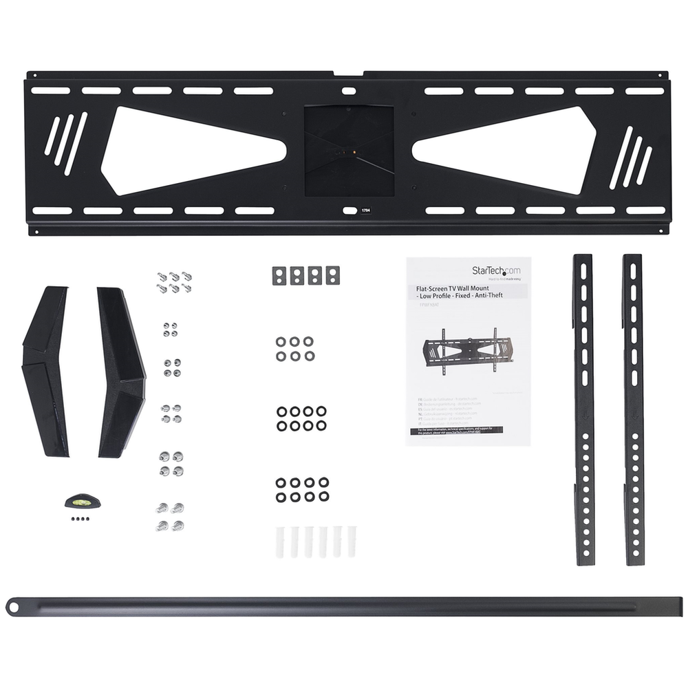 """A large main feature product image of Startech Low Profile TV Wall Mount for 37""""-70"""" TV - Anti-Theft, Fixed"""