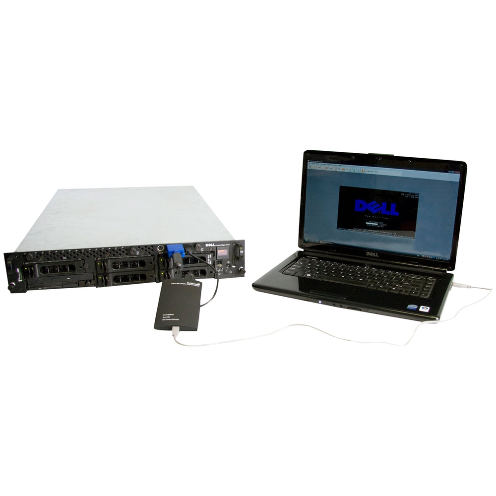 A large main feature product image of Startech KVM Console to USB 2.0 Portable Laptop Crash Cart Adapter