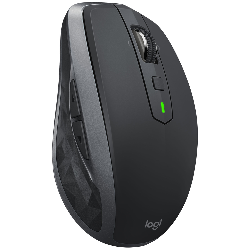 A large main feature product image of Logitech MX Anywhere 2S Cordless Mouse