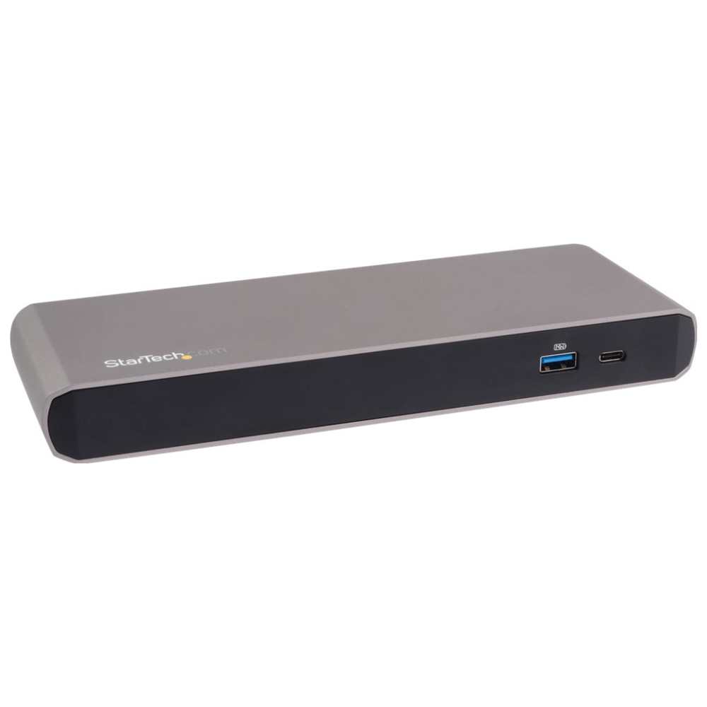 A large main feature product image of Startech Thunderbolt 3 Dock with Dual 4K - Mac & Windows