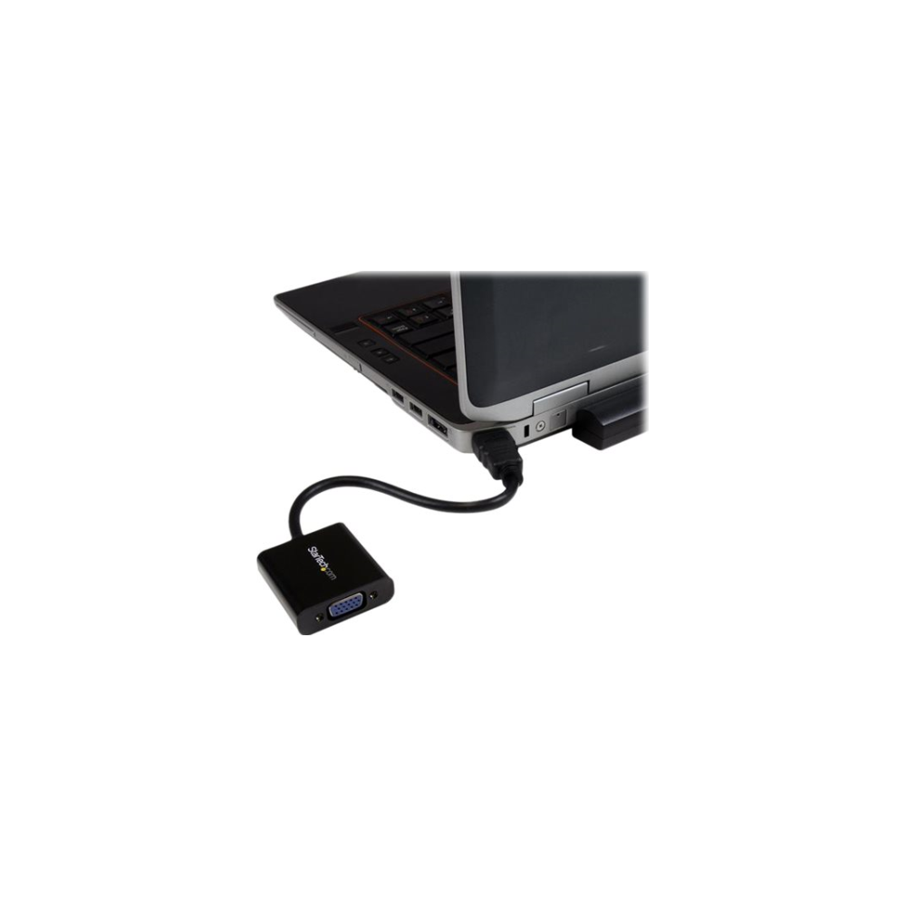A large main feature product image of Startech HDMI to VGA Adapter Converter
