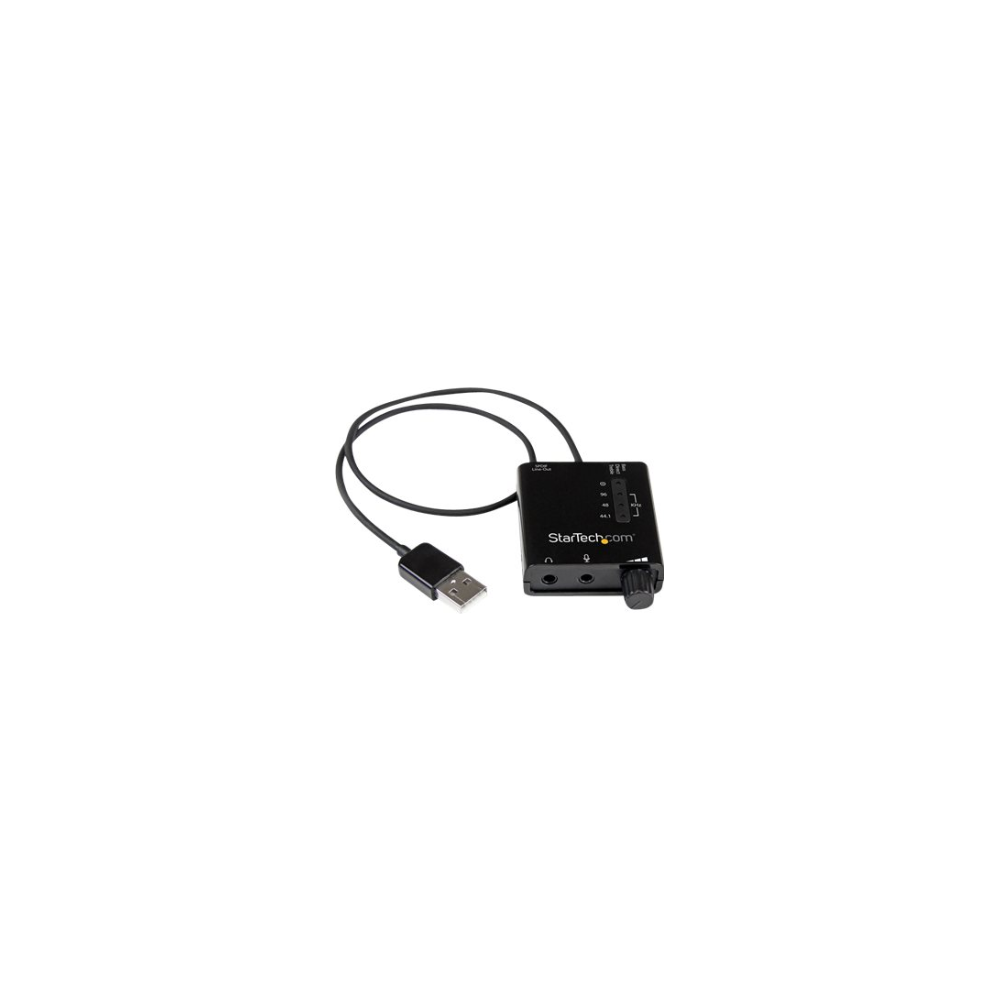 A large main feature product image of Startech USB Sound Card Audio Adapter w/ SPDIF