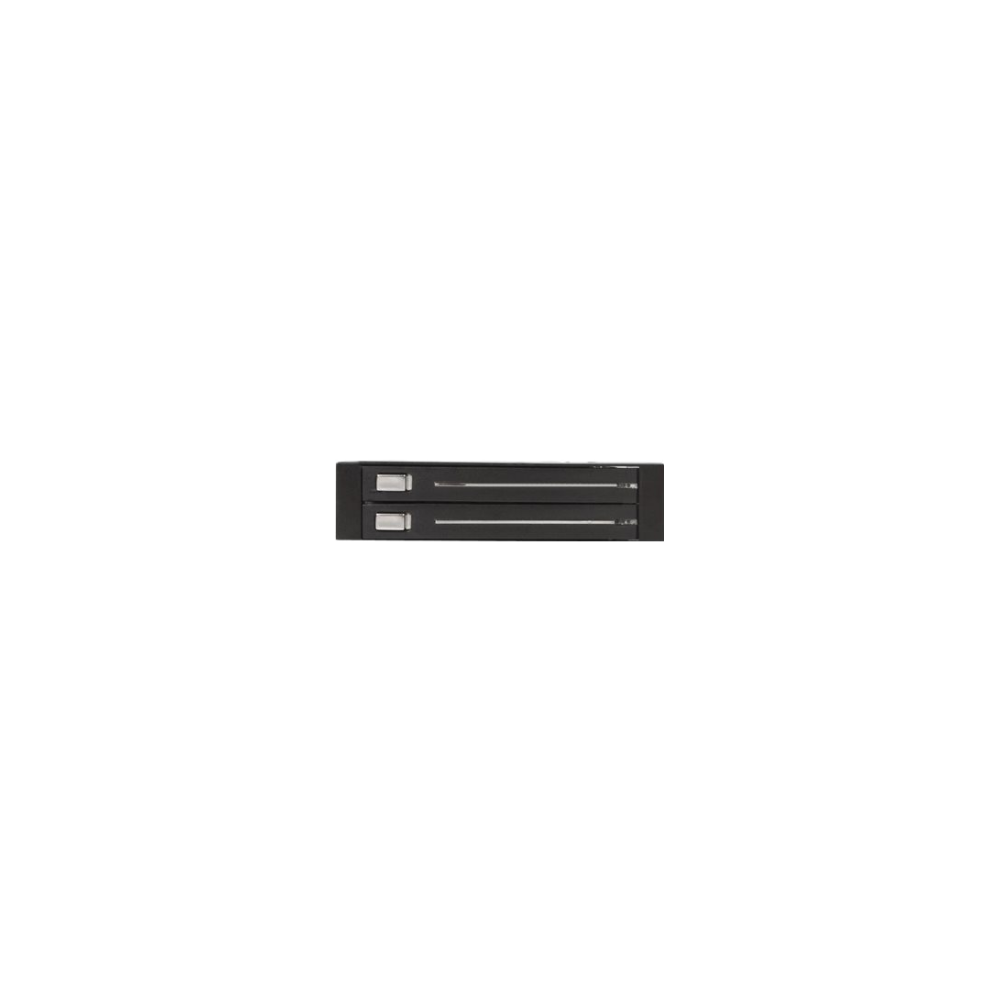 A large main feature product image of Startech 2 Drive 2.5in Trayless SATA Mobile Rack