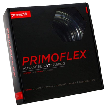 "Product image of PrimoChill PrimoFlex Advanced LRT 13mm (1/2"") ID, 19mm (3/4"") OD 10ft Pack Crystal Clear Tubing - Click for product page of PrimoChill PrimoFlex Advanced LRT 13mm (1/2"") ID, 19mm (3/4"") OD 10ft Pack Crystal Clear Tubing"